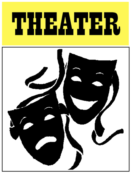 Screen shot at pm free images at clkercom vector clip for Theatre sign clipart