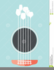 Acoustic Guitar Clipart Free Image