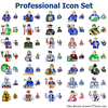 Professional Icon Set Image