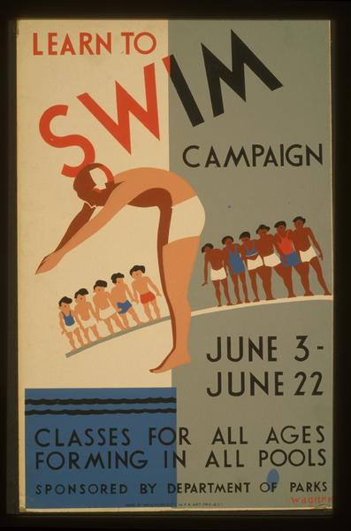 Learn to swim public information film