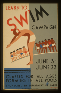 Learn To Swim Campaign Classes For All Ages Forming In All Pools / Wagner. Image