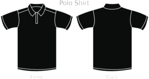 Black Polo Shirt Md Image