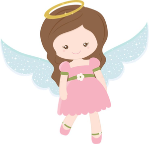 Free Baby Angel Clipart Image