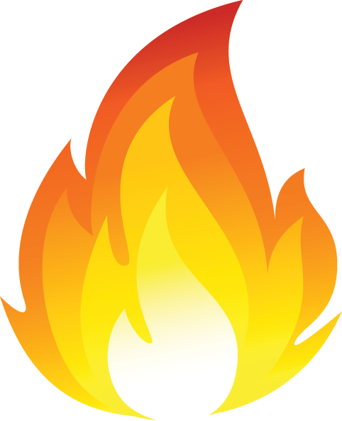Fire Vector Icon Png | Free Images at Clker.com - vector ...