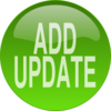 Green Add Update Button Clip Art