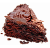 Chocolate Cake Slice Image