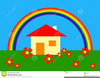 Free Clipart Of Rainbows Image