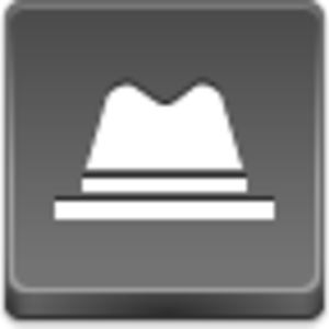 Free Grey Button Icons Hat Image
