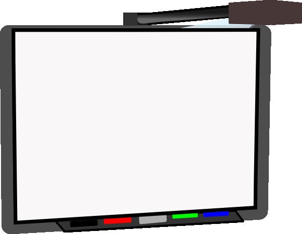 small smart board blank clip art at clker com vector Whiteboard Clip Art interactive smartboard clipart