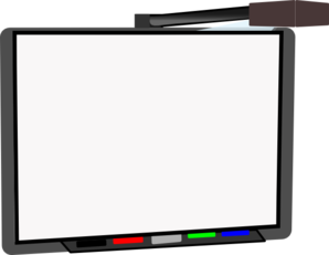 Small Smart Board Blank Clip Art at Clker.com - vector ...