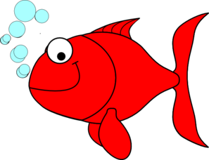 redfish clip art at clker com vector clip art online royalty free rh clker com free fish clipart black and white Redfish Tail
