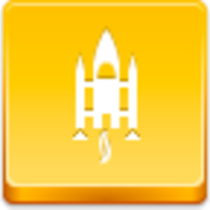 Free Yellow Button Space Shuttle Image