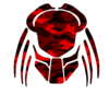 Cybergoth Cut Red Camo Image