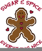 Gingerbread Men Clipart Free Image