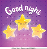 Good Night Clipart Image