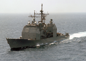 Uss Normandy (cg 60) Underway Image