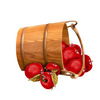 Bobbing For Apples Clipart Image