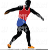 Free Clipart Discus Thrower Image