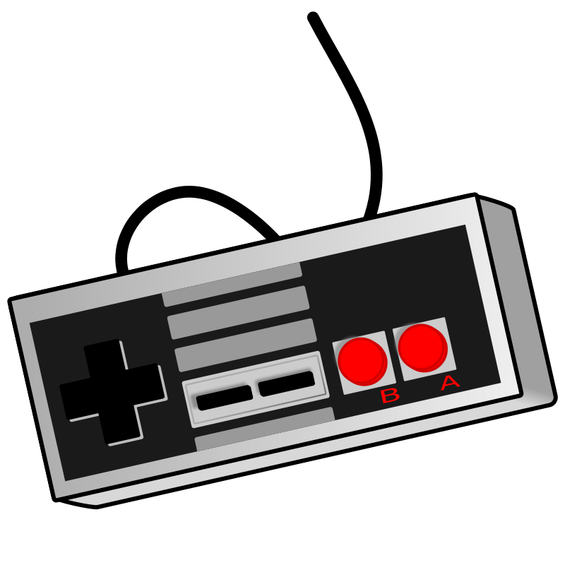 Old School Game Controller | Free Images at Clker.com ...