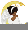 Free African American Angel Clipart Image