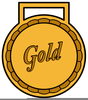 Olympic Gold Clipart Image
