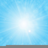 Free Blue Sky Clipart Image