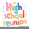 High School Reunion Clipart Image