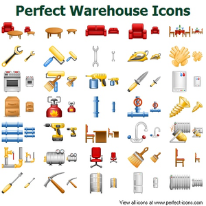 Perfect Warehouse Icons Image