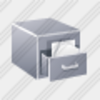 Icon Filing Cabinet Image