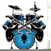 Pictures Of Drum Sets Clipart Image