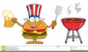 Bbq And Beer Clipart Image