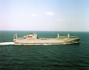 Usns Benavidez (t-akr 306)at Sea During  Sea Trials. Image