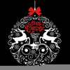 Black And White Christmas Star Clipart Image