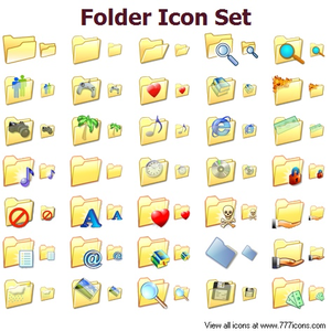 Folder Icon Set Image