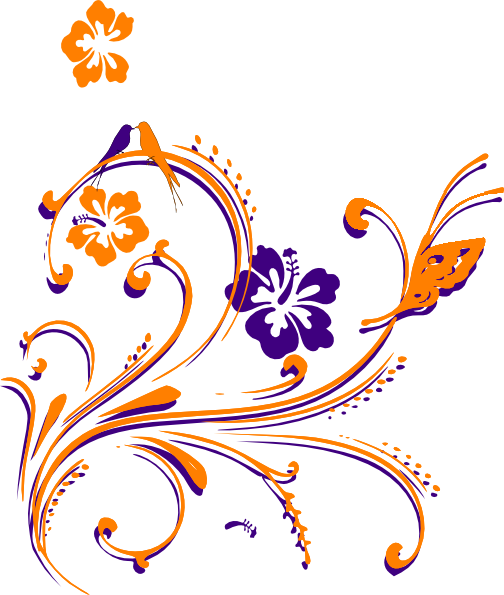 Pretty Butterfly Clip Art at Clker.com - vector clip art ...