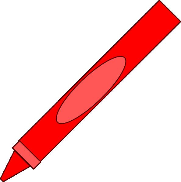 Crayon Clip Art At Clkercom Vector Online