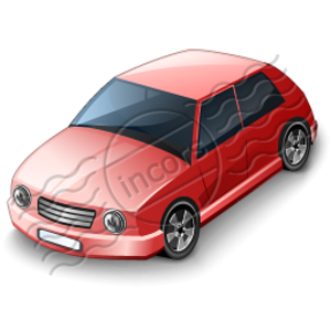 Car Compact Red Image