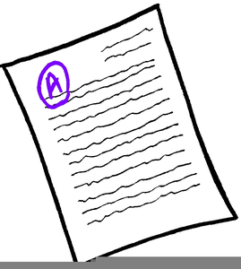 grading papers clipart free images at clker com vector clip art