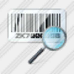 Icon Bar Code Search2 Image