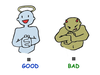 The Good The Bad And The Ugly Clipart Image