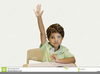 Free Clipart Child Raising Their Hand Image