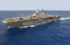 Aerial Photo Of The Amphibious Assault Ship Uss Boxer (lhd 4) Clip Art