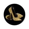 Black And Gold High Heel Shoe Stickers R C E E F V Waf Byvr Image