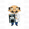 Animated Scientist Clipart Image
