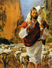 The Good Shepherd Clipart Image