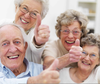 Happy Elderly People Image