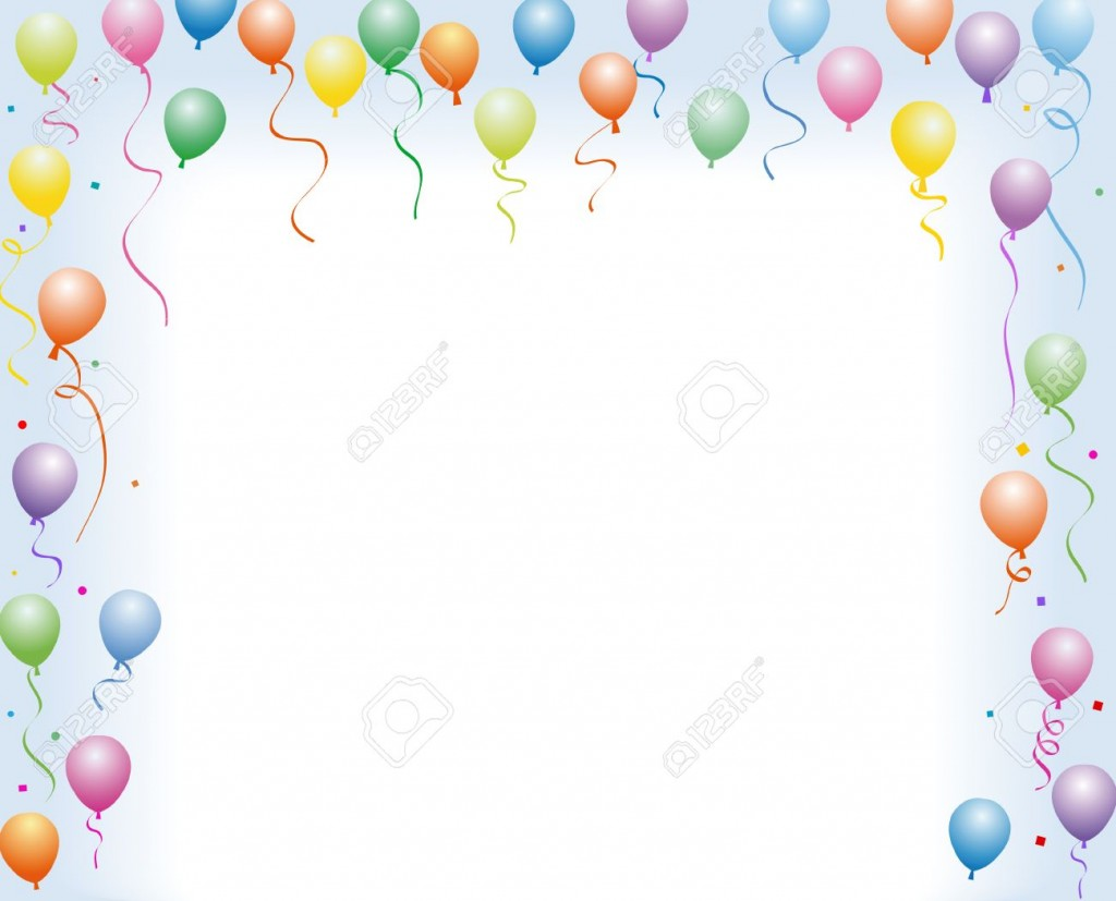 Clipart Birthday Borders | Free Images at Clker.com ...