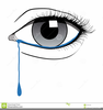 Clipart Face With Tears Image