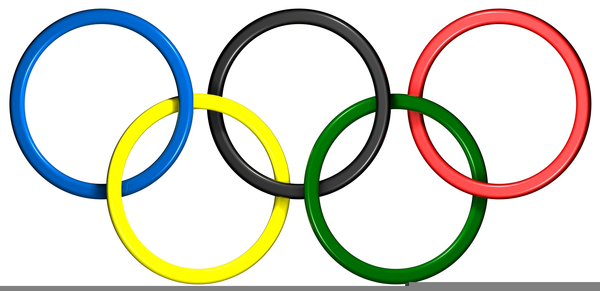 olympic rings clipart free images at clker com vector clip art rh clker com usa olympic rings clipart olympic rings clip art black and white