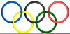 Olympic Rings Clipart Image